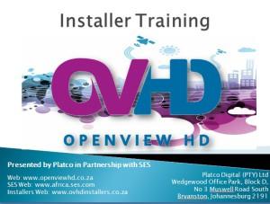 OVHD Installer Training