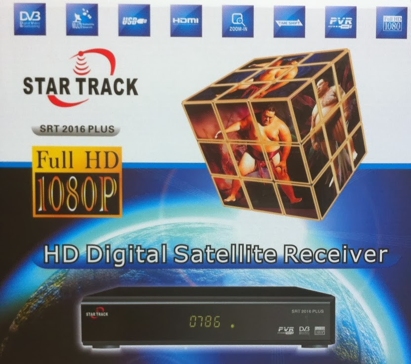 HD DIGITAL SATELLITE RECEIVER STAR TRACK